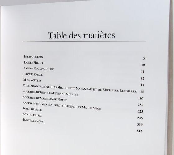 Exemples de livres produits avec genopresse - Exemple table des matieres ...